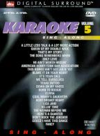 DVD Karaoke Sing-Along: Volume 5