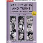 Variety Acts and Turns of the Second World War: 1939-1945