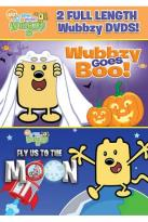 Wow! Wow! Wubbzy!: Wubbzy Goes Boo!/Fly Us to the Moon