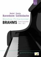 Daniel Barenboim/Sergiu Celibidache: Brahms - Piano Concertos Nos. 1 &amp; 2
