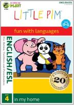 Little Pim: English/ESL, Vol. 4 - In My Home