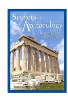 Secrets of Archaeology: Ancient Greece and Beyond