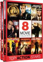 Top Action Stars: 8 Movie Collection