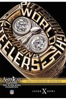 NFL Americas Game: Pittsburgh Steelers Super Bowl X