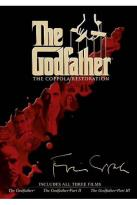 Godfather: The Coppola Restoration - The Godfather/ The Godfather, Part II/ The Godfather, Part III