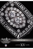 NFL Americas Game: Oakland Raiders Super Bowl XV