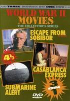 World War II Movies - Escape from Sobibor/Casablanca Express/Submarine Alert