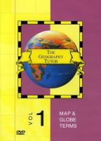 Geography Tutor: Map and Globe Terms - Volume 1