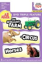 All About Farm And Circus And Horses