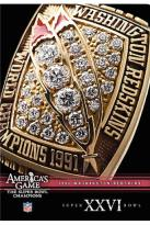 NFL Americas Game: Washington Redskins Super Bowl Xxvi