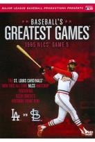 MLB: Baseball's Greatest Games - 1985 NLCS Game 5