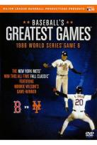 Baseball's Greatest Games: The Sixth Game of the 1986 World Series