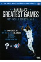 MLB: Baseball's Greatest Games - 1993 World Series Game 6