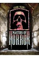 Masters of Horror - Season 1 - Volume 1