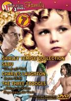 Shirley Temple/Three Stooges/Sabu Family 2 Pack