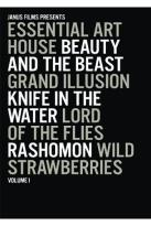 Essential Art House: Vol. 1 - Beauty And The Beast / Grand Illusion / Knife In The Water / Lord Of The Flies