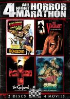 All Night Horror Movie Marathon: 4 Movies