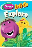 Barney - Let's Go Explore 3-Pack
