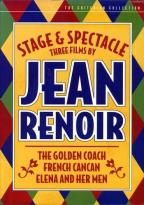 Stage and Spectacle: Three Films by Jean Renoir