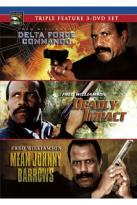Fred Williamson Triple Feature: Delta Force Commando/Deadly Impact/Mean Johnny Barrows