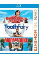 Gulliver's Travels/Tooth Fairy/Marmaduke