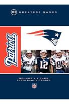 NFL Greatest Games Series - New England Patriots 10 Greatest Games