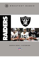 NFL Oakland Raiders 3 Greatest Games - Super Bowl Victories