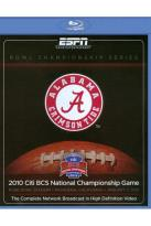 Bowl Championship Series: 2010 Citi BCS National Championship Game - Alabama Crimson Tide