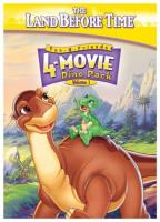 Land Before Time: 4 Movie Dino Pack Vol. 1