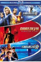 Marvel 3-Pack: Fantastic Four/Fantastic Four: Rise of the Silver Surfer/Daredevil