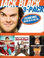 Jack Black 3-Pack: Nacho Libre/School of Rock/Orange County