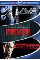 Muscle 3-Pack: Commando/Predator/Alien Vs Predator