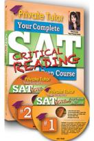 Private Tutor: Reading Book with 2 DVDs Inside - SAT Prep Course