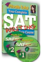 Private Tutor: Writing Book with 2 DVDs Inside - SAT Prep Course