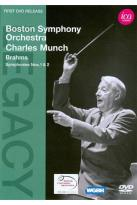 Boston Symphony Orchestra/Charles Munch: Brahms - Symphonies Nos. 1 &amp; 2