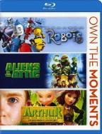 Robots/Aliens in the Attic/Arthur and Invisibles 2 & 3