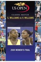 US Open: 2001 Women's Final - S. Williams vs. V. Williams