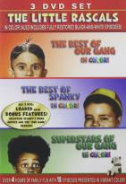 Little Rascals - 3-Pack: The Best of Our Gang/Superstars of Our Gang/The Best of Spanky