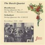 Beethoven & Schubert: String Quartets No. 7 & 8