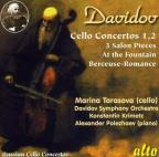 Karl Davidov: Cello Concertos 1 & 2; 3 Salon Pieces; At the Fountain; Berceuse-Romance