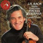 Bach: Violin Concertos / Zukerman, English CO