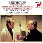 Beethoven: Violin Concerto; Romances for Violin & Orchestra