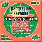Party Tyme Karaoke: Girl Country, Vol. 3