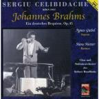 Johannes Brahms: Deutsches Requiem