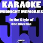 Midnight Memories (In The Style Of One Direction) [karaoke Version] - Single
