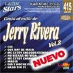 Karaoke Latin Stars: Jerry Rivera, Vol. 2