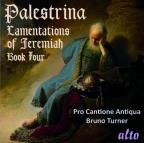 Palestrina: Lamentations of Jermiah, Book 4