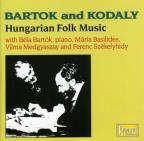 Bartók And Kodály - Hungarian Folk Music / Bartók, Et Al
