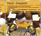 Fasch, Graupner: Concertos for Basson and Orchestra