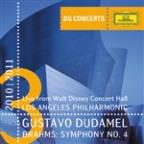 Brahms: Symphony No.4 (DG Concerts – Live From The Walt Disney Concert Hall/2010-2011)